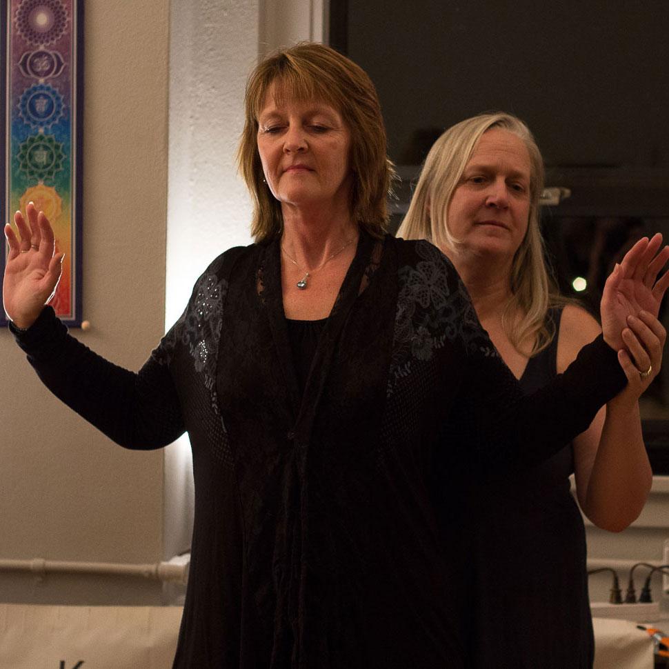 Susan activating NE9 Rhonda Ladene