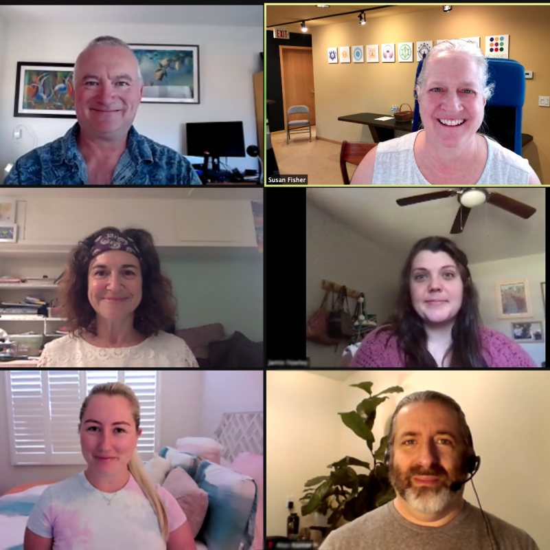 Zoom Call with Susan Bennett Fisher